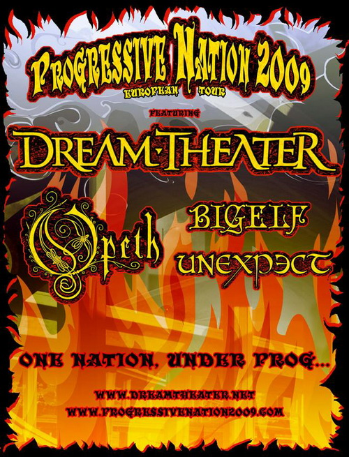 Progressive Nation 2009 Poster